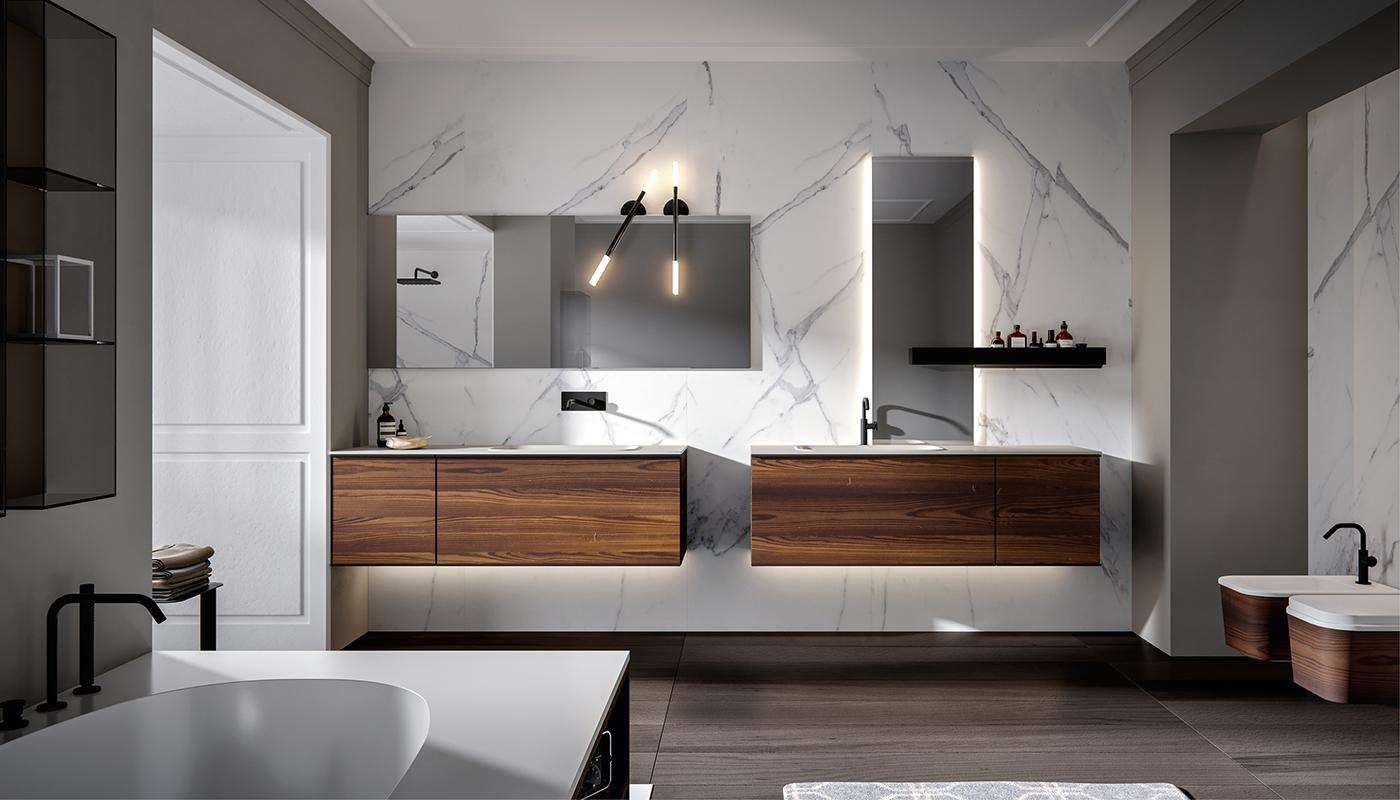 Come arredare il bagno: 5 diversi stili | Gruppo Cantarini