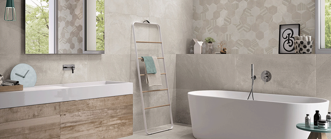 Come scegliere le piastrelle per il bagno gruppo cantarini - Come scaldare il bagno ...