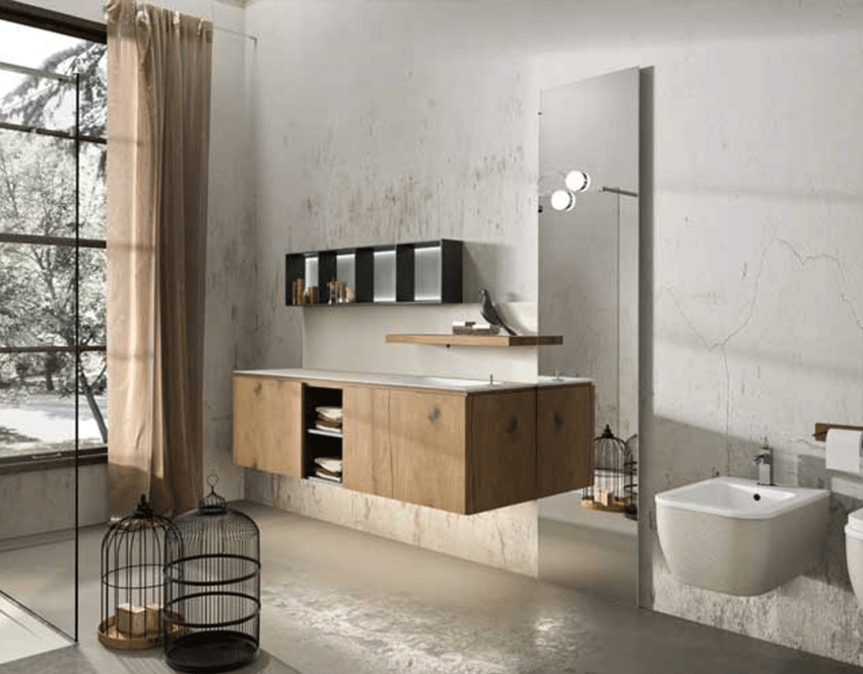 Come arredare il bagno 5 diversi stili gruppo cantarini - Arredo bagno 2018 ...