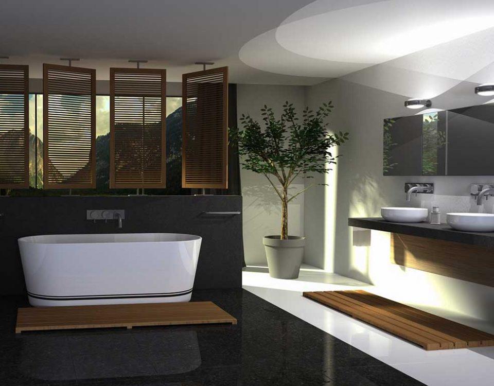 Home decor floreale piante giuste per il tuo bagno mastella